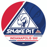 Snake Pit Americana Round Plastic Sign