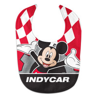 INDYCAR Series Mickey Mouse Bib