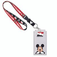 INDYCAR Series Mickey Mouse Credential/Lanyard Set