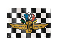 Indianapolis Motor Speedway Checkered 3x5 Flag