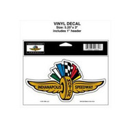 Indianapolis Motor Speedway Decal / Clear