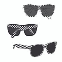 Indianapolis Motor Speedway Ladies Checkered Sunglasses