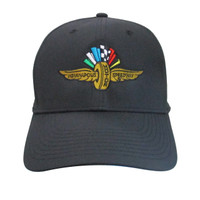 Wing Wheel and Flag Black Nike Cap