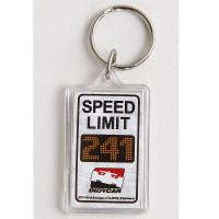 INDYCAR Speed Limit Keychain