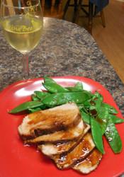 Spicy Honey Teriyaki Pork Loin