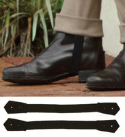 Centaur Jodhpur Elastic Straps with Leather buttonhole Tab