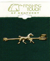 Trotting Horse Stock Pin