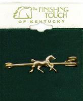 Trotting Horse Stock Pin