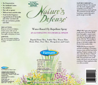 Nature's Defense Water-Based Fly Repellent Spray