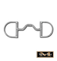 Myler Ported Barrel Dee, No Hooks, Level 3,  4.5''