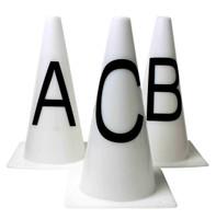 Roma Dressage Cones - Set of 8
