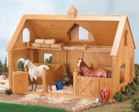 Breyer Deluxe Wood Barn with Cupola