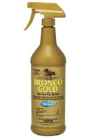 Bronco Gold Equine Fly Spray,  Quart Spray