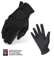 Heritage Premier Fleece Gloves, Sizes 5 - 7