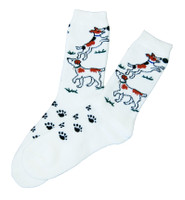 Jack Russell Socks - Childs & Ladies