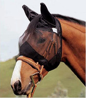Cashel Quiet Ride Fly Mask with Ears - 2 Sizes