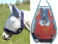 Charlie's Bug Off Fly Mask - Large Pony / Small Horse
