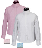 Equine Couture Lyn Coolmax Snap Collar Shirt, Sizes 6 - 16