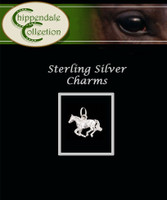 Sterling Silver Charm - Cantering Horse