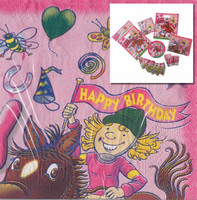 Ponies in the Pink Birthday Party Pack