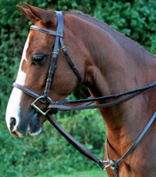 Beval Leather Two-Snap Pony Draw Reins