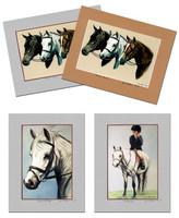 Janet Griffin Scott Unframed, Matted Print 8 x 10