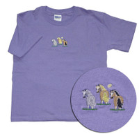 Pony Tails EQ Rider Embroidered Childs Tee