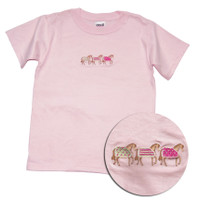 Palm Beach EQ Rider Embroidered Childs Tee, Sizes L & XL Only