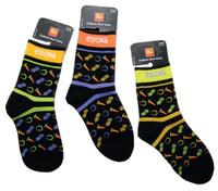 Epona Happy Go Lucky Paddock Boot Socks, Juniors