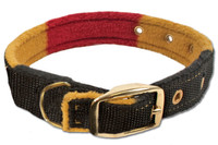 "Horseware Rambo Newmarket Dog Collar, Witney Stripe, 14"" Only"