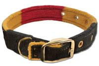 "Horseware Rambo Newmarket Dog Collar, Witney Stripe, 14"" Only"