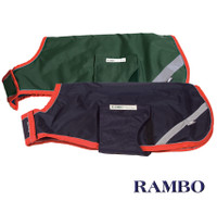 Horseware Rambo Waterproof Dog Blanket, Green or Navy