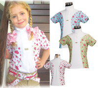 Children's Bindia Technical Short Sleeve Show Shirt, Jade Large Only