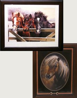 Framed Pony Prints