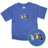 Pony Tails Embroidered Infant Tee, 12, 18 & 24 Months