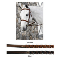 Beval Conquer Padded Fancy Stitched Bridle, Pony & Cob