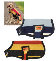 Horseware Rambo Newmarket Dog Blanket, Gold  Witney Stripe XS & S Only