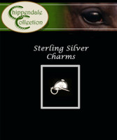 Sterling Silver Charm - Riding Helmet