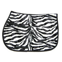 Serengeti Saddle Pad, Zebra Print