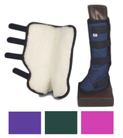 """Fleece Lined Flared Shipping Boots, 8"""" &  10"""" Only"""