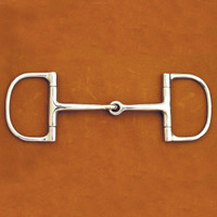 "Smith Worthington Barrel Dee Ring Snaffle, 3"", 3.5"", 4"", 4.5"""
