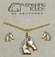 Regal Horse Head Gift Set
