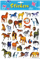 Horse Stickers, 32 Pieces