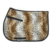 Serengeti Saddle Pad, Leopard Print