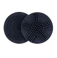 Circular Velvet Touch Groomer, Navy