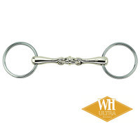 Herm Sprenger WH Ultra Double Jointed Bradoon, 16mm, 4.75""