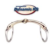 """Herm Sprenger Dynamic RS Bradoon, Eggbutt Style, Single Joint, 14mm, 4.5"""""""