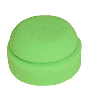 Tail Tamer Lime Puck Sponge