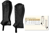 TuffRider Micro Touch Childs Half Chaps