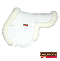 Fleeceworks Sheepskin Pony Saddle Pad
